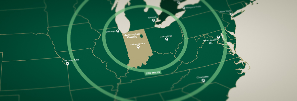 Huntington County EDC Homepage Slider Image